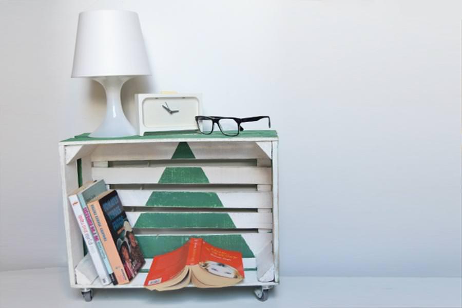 Idee creative per riutilizzare le cassette di legno della frutta