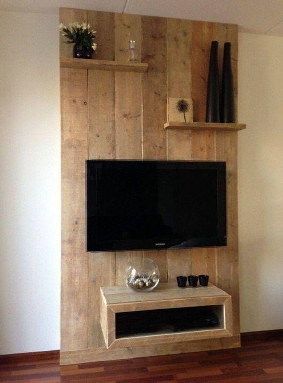 16 idee creative per avere un mobile porta tv orginale in legno - Kasanova prodotti per la casa ...