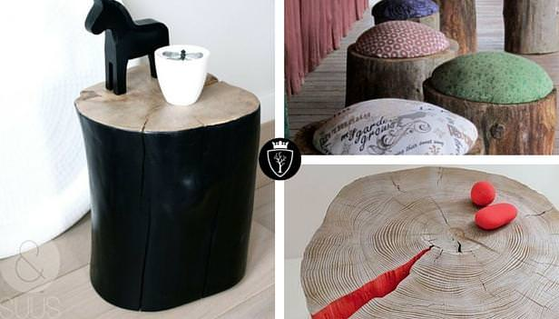 Idee creative con il legno