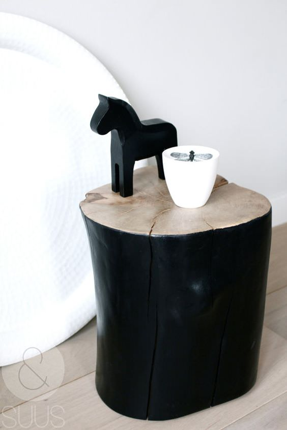 26 idee creative realizzate con tronchi di legno - Idee creative per la casa ...