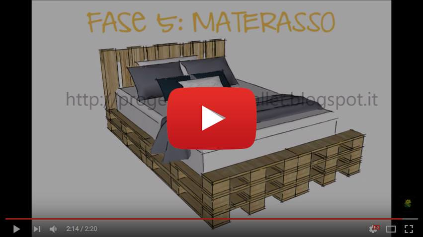 Video tutorial per costruire un letto con pallets da soli - Idee creative per la casa ...