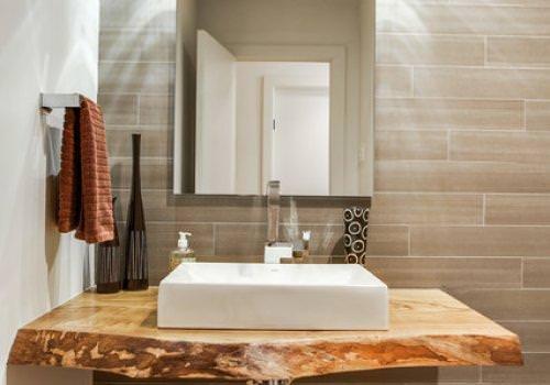 Falegnameria900 - Top bagno legno massello ...
