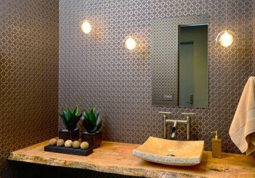 Mensola da bagno in legno. Mobile…