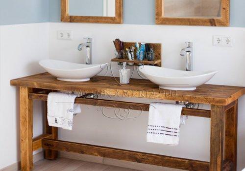 Nature Design: mobile bagno in legno…