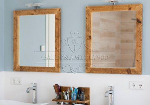 Nature Style: specchio in legno massello…