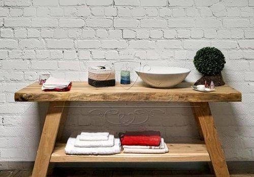 Mobile bagno in legno massello con…