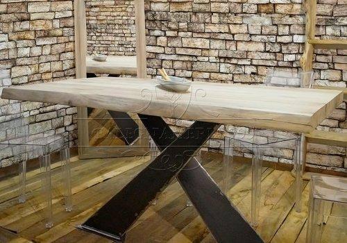X Design: tavolo legno massello con…