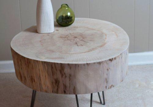 Tronco tavolino da solotto in legno…