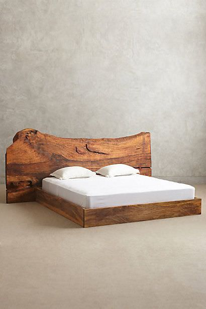 Legno massello testiera per letto matrimoniale in legno - Testiera letto legno ...