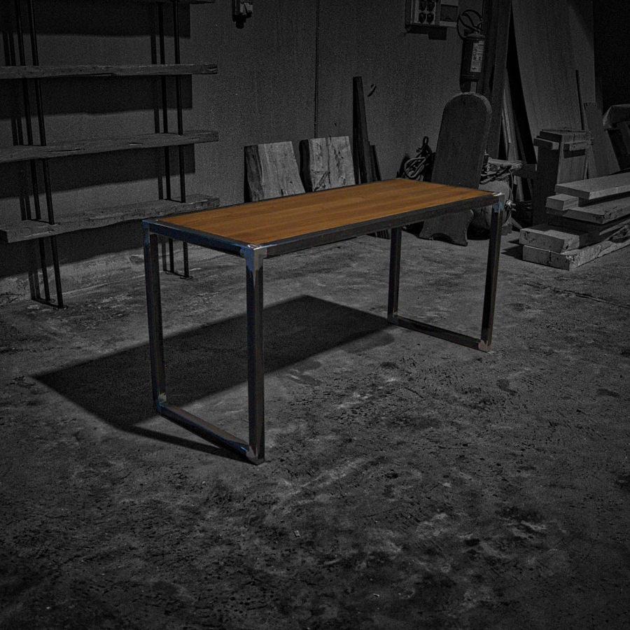 Consolle in legno massello e ferro: Arik