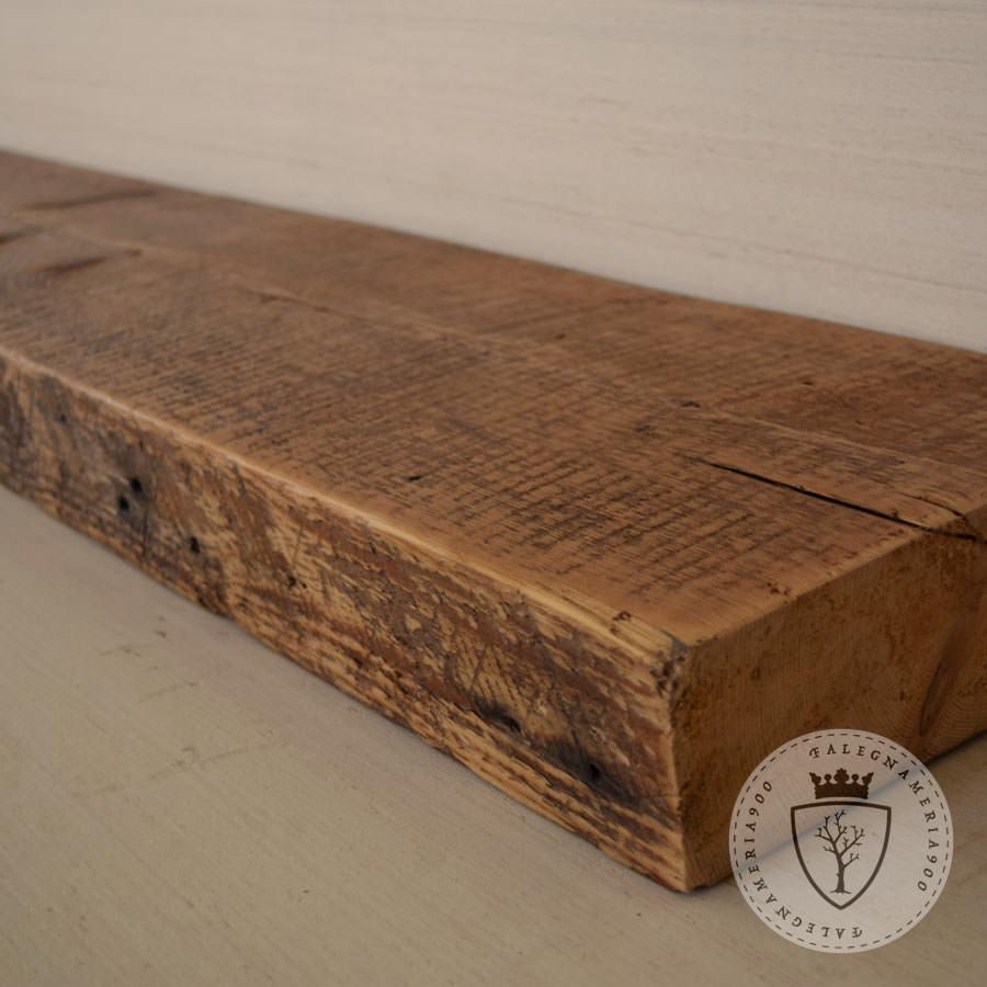 ... Mensole in legno massello : Mensola in legno massello di castagno