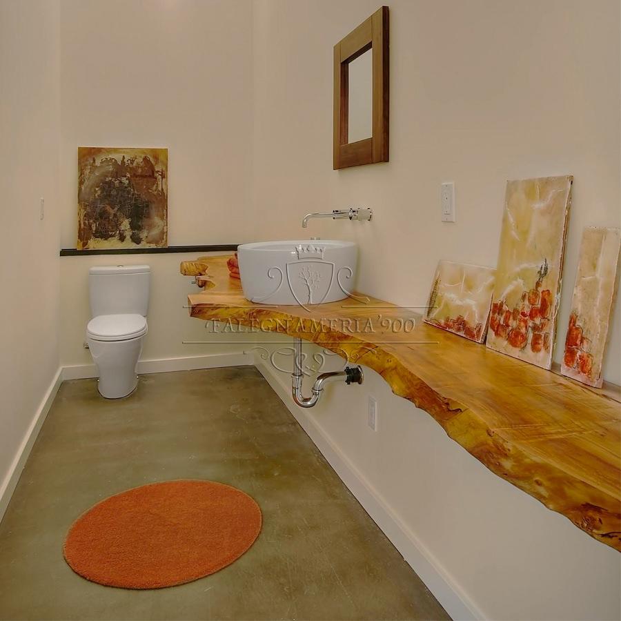 Mensola mobile per il bagno in legno massello modello ilenia - Legno per bagno ...