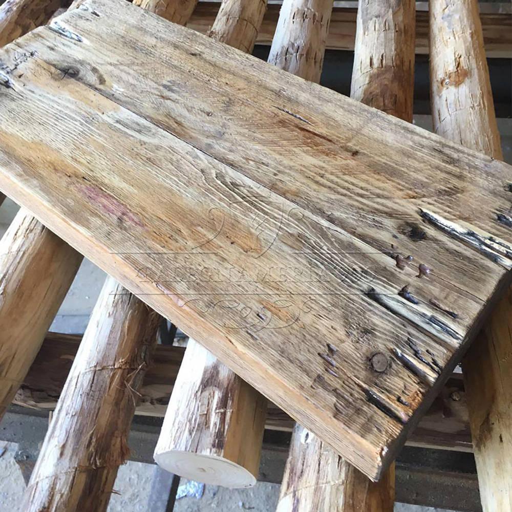 Librerie e mensole in legno massello mensola vintage in for Mensole legno massello