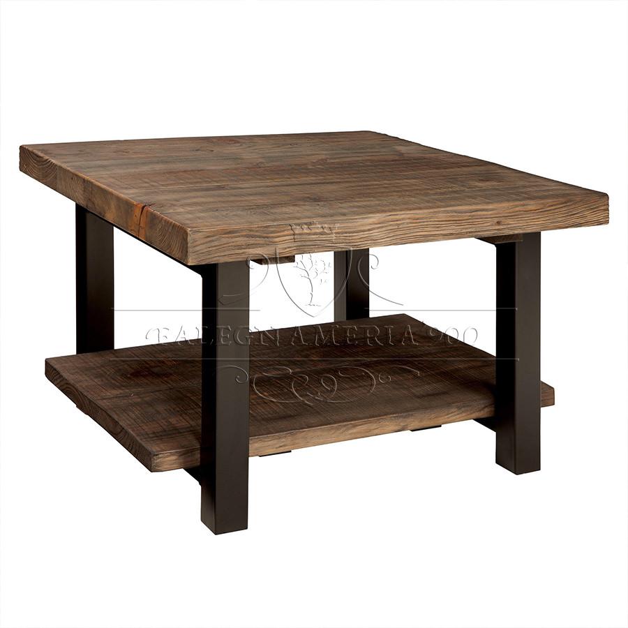 Legno Massello : Rustic Style: tavolino basso da salotto in legno ...