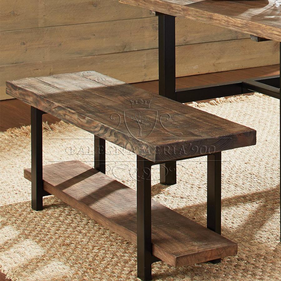 Best tavoli ferro e legno images for Tavoli in legno con gambe in ferro