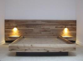 Testate Letto In Legno Negozio : Letto matrimoniale con testata in legno massello di teak naturale