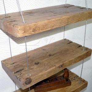 Librerie e mensole in legno massello - Tavole legno massello ...