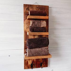 Tavolo in legno massello impero tavolo legno massello di castagno con taglio tronco e gambe - Mobile porta asciugamani ...