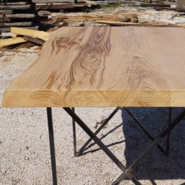 Tavoli rustici in legno massello -30% di sconto online