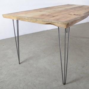 Legno Massello : Tavolo da cucina top in legno massello e gambe in ...