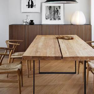 Tavoli in legno massello artigianale: acquisto diretto in falegnameria