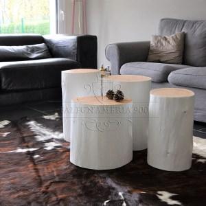 Tronchi in legno per arredamento white style tronco in for Tronchi per arredamento