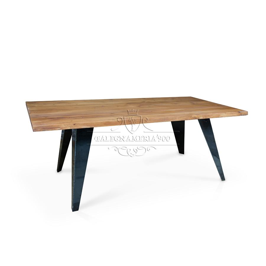 Popolare Tavolo in legno massello modello Andrea GQ71