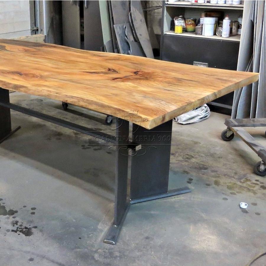 Tavolo in legno massello modello butterfly - Dimensioni tavolo biliardo casa ...