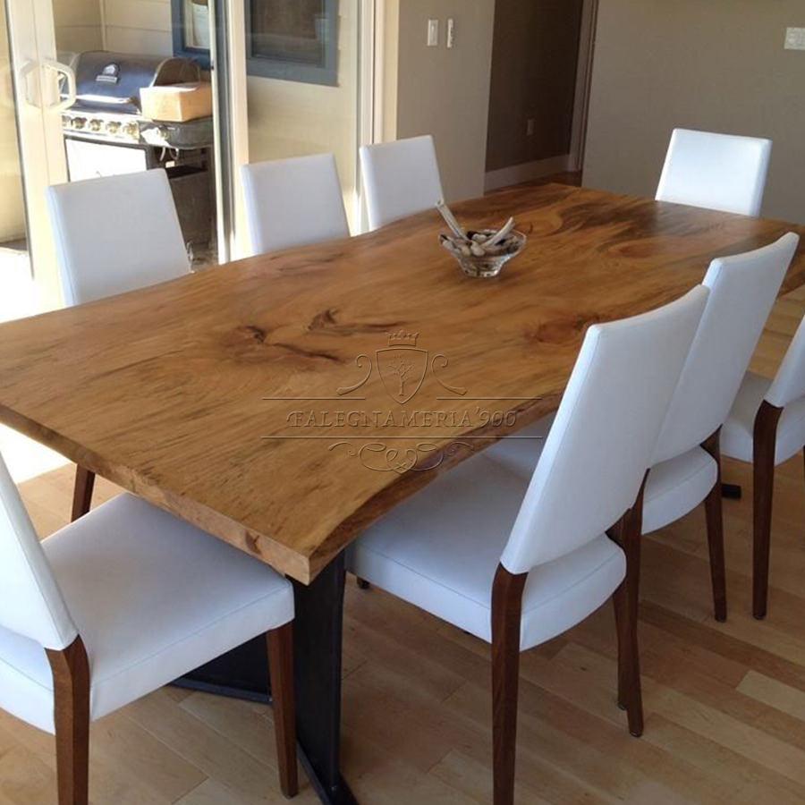 Tavolo in legno massello modello butterfly - Tavolo legno massello ...