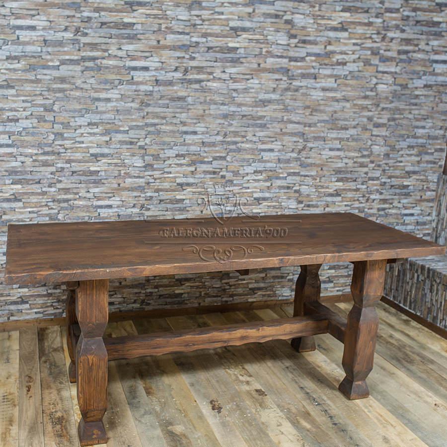 Legno Massello : Tavolo da cucina in legno massello di abete o ...