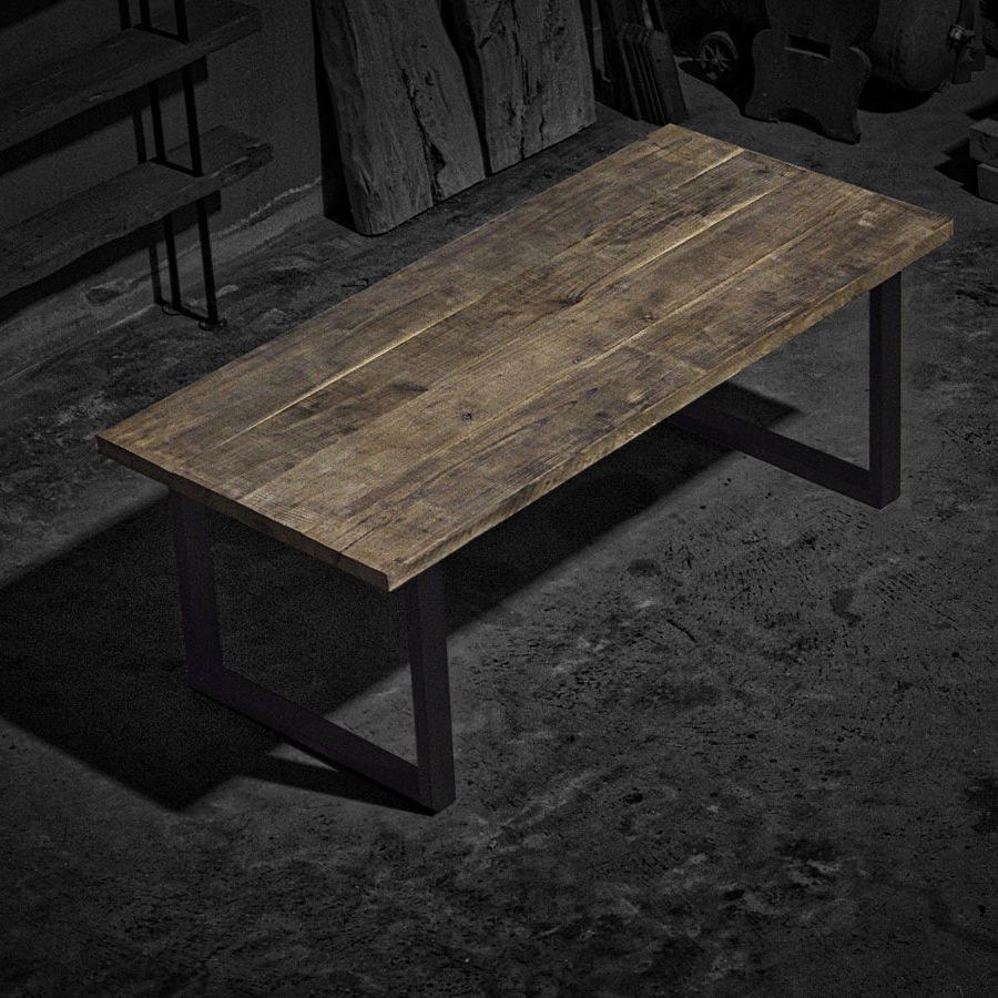 Benvenuti nel mondo di falegnameria900 for Costruire tavolo legno rustico