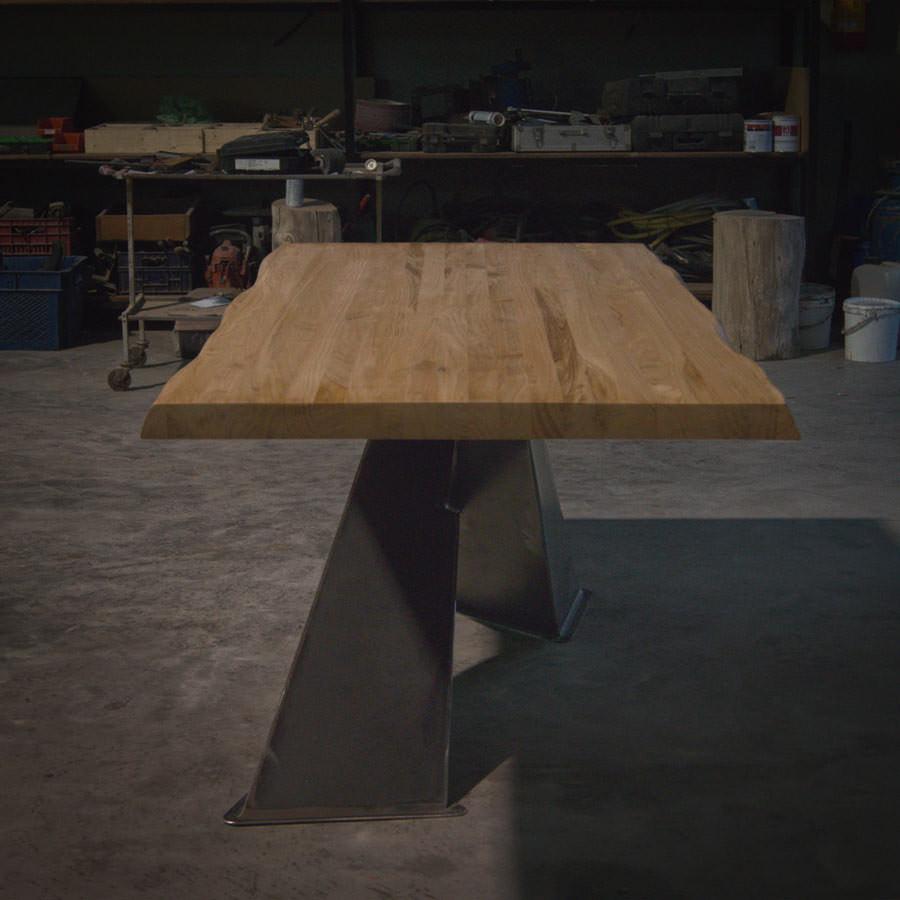 Tavolo in legno massello: X Design Naturale