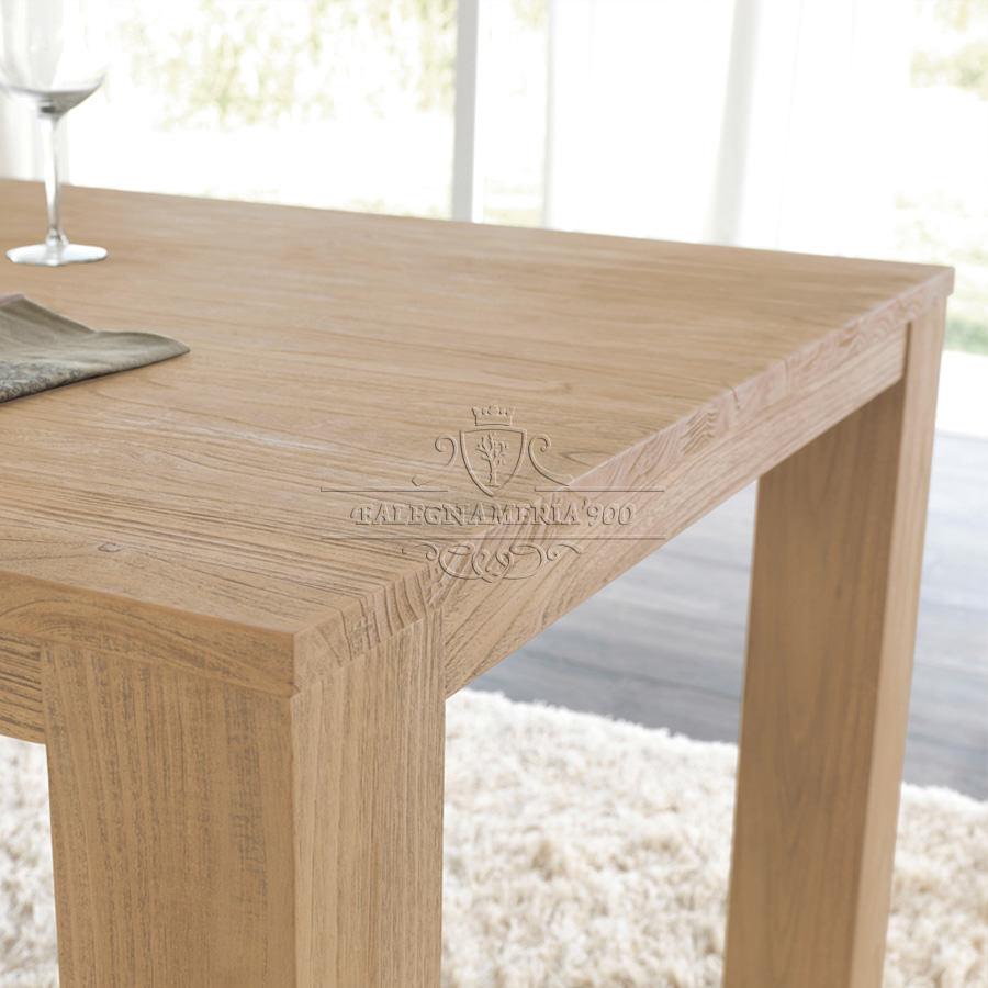 Legno massello loren tavolo da cucina in legno massello - Tavoli da cucina in legno massello ...