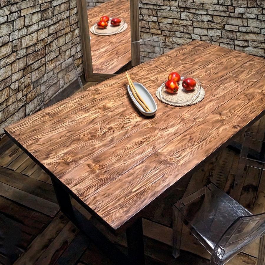 Acquista online tavoli e top in legno massello in offerta for Tavolo rustico legno