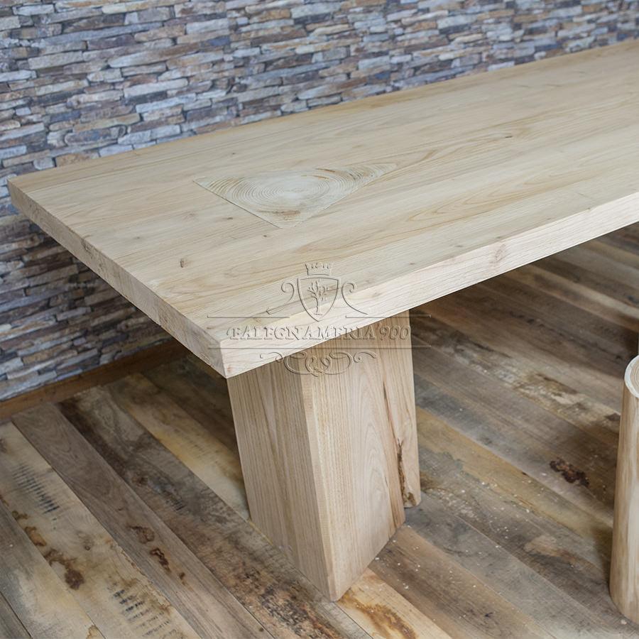 Daimond falegnameria900 for Tavoli in legno massello rustici