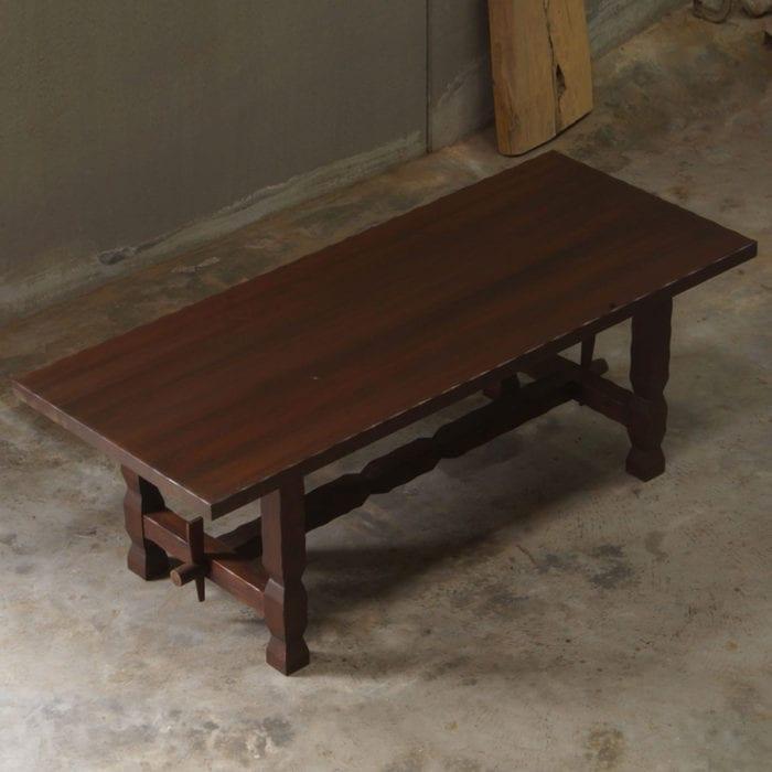 Tavolo legno massello classico rustico