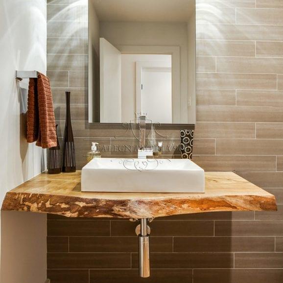 Mobile bagno in legno massello