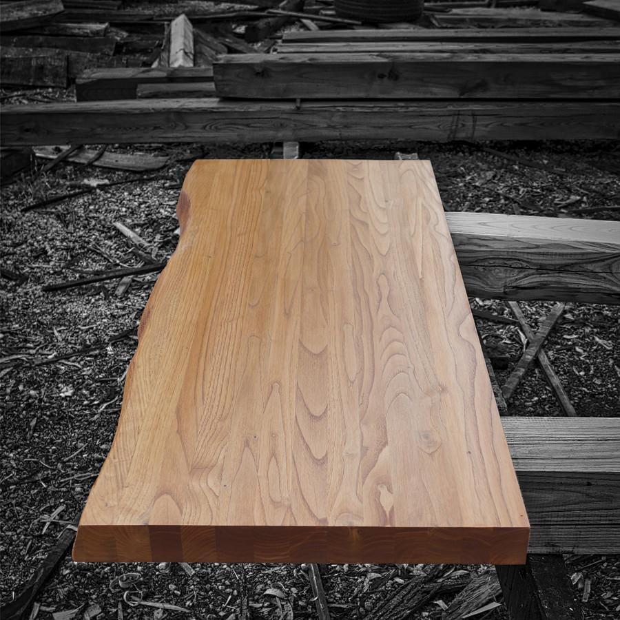 Mensola mobile bagno in legno massello naturale giorgia - Top bagno legno massello ...