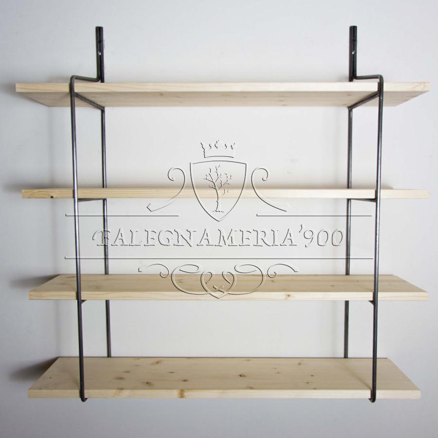 Nature Style: mensole libreria in legno massello