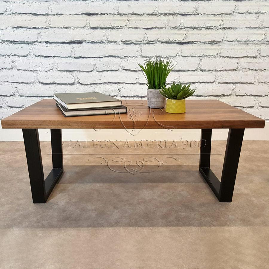 Tavolino in legno da salotto - John | Falegnameria900 - Mobili in legno su  misura