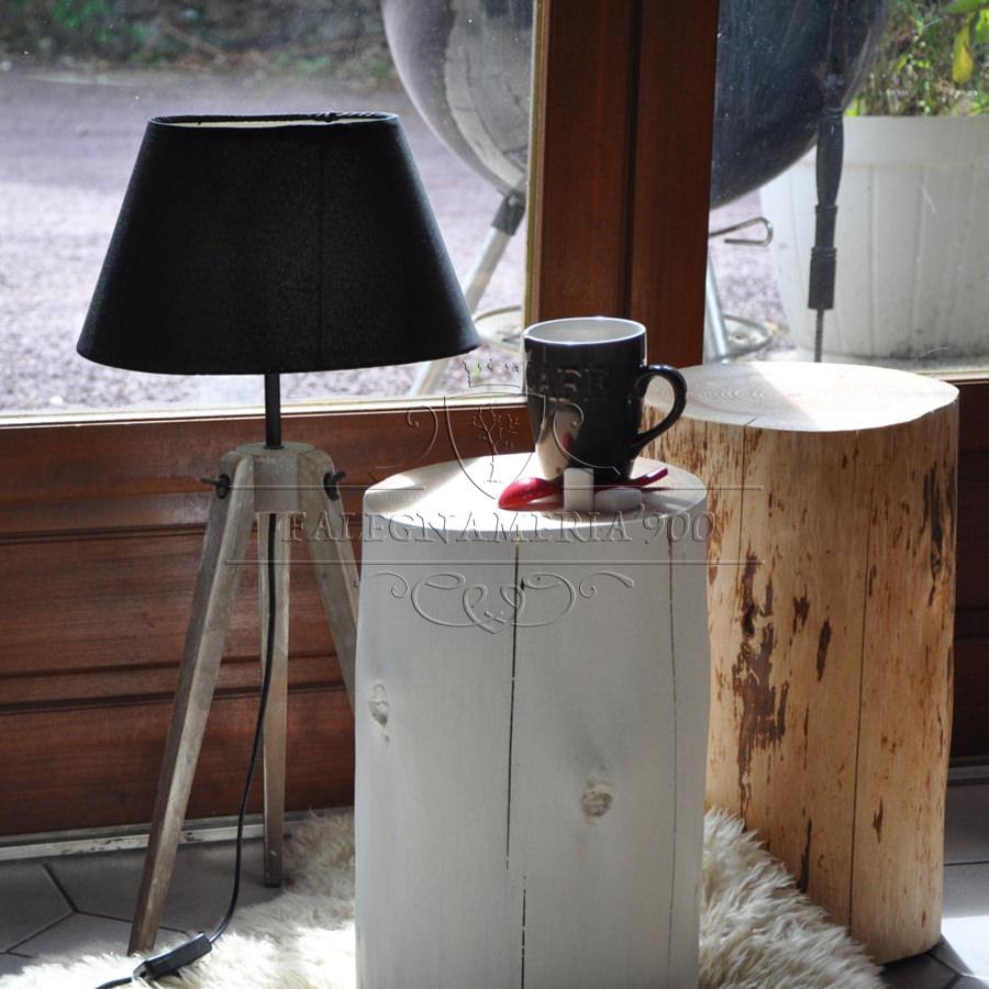 Tronco di legno bianco venere falegnameria900 for Tronchi di legno per arredamento