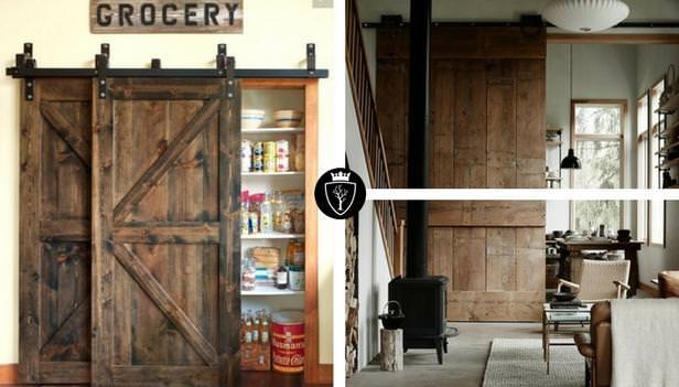 Barn Doors porte scorrevoli in legno