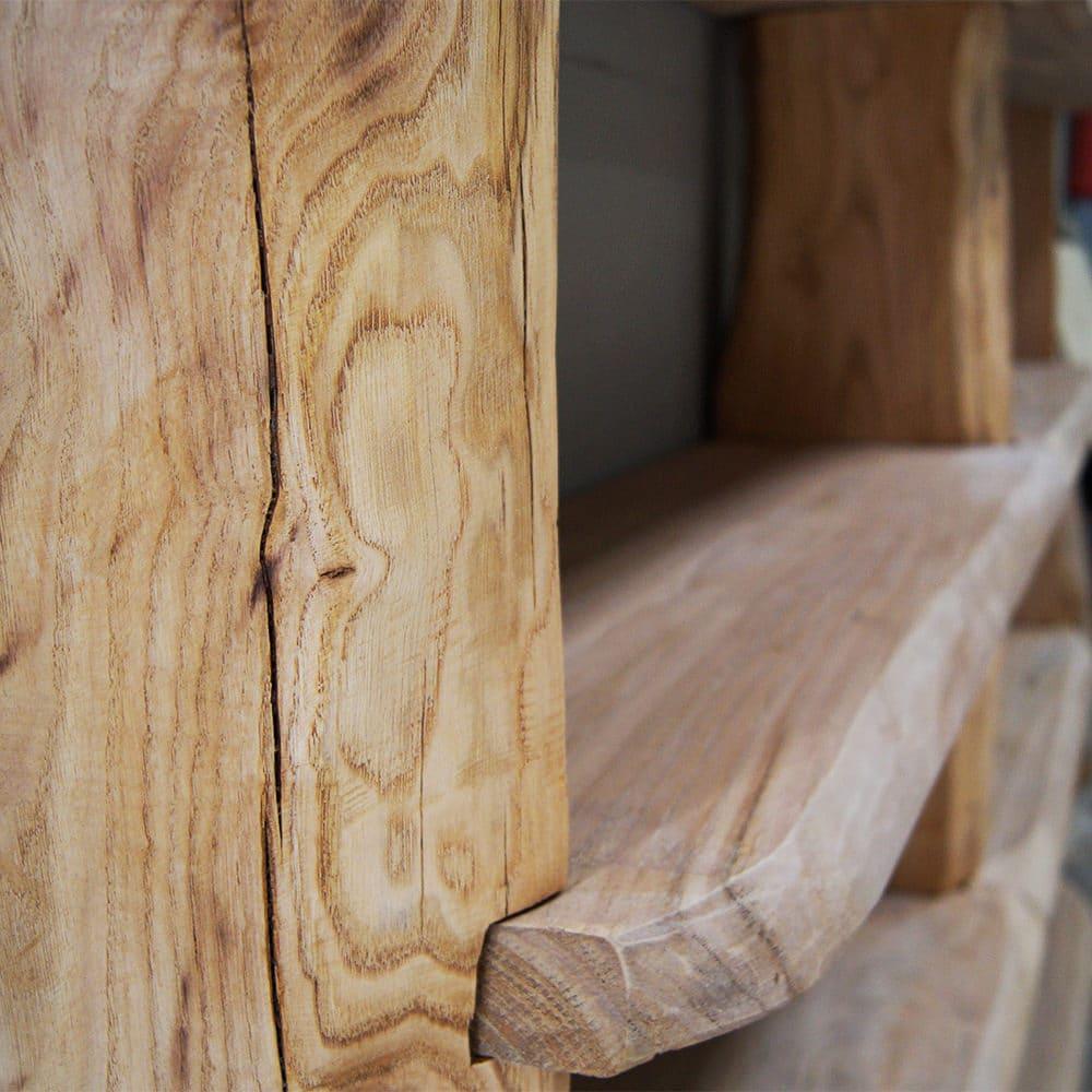 Libreria legno massello