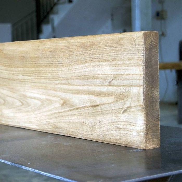 Mensole in legno massello di castagno rustico