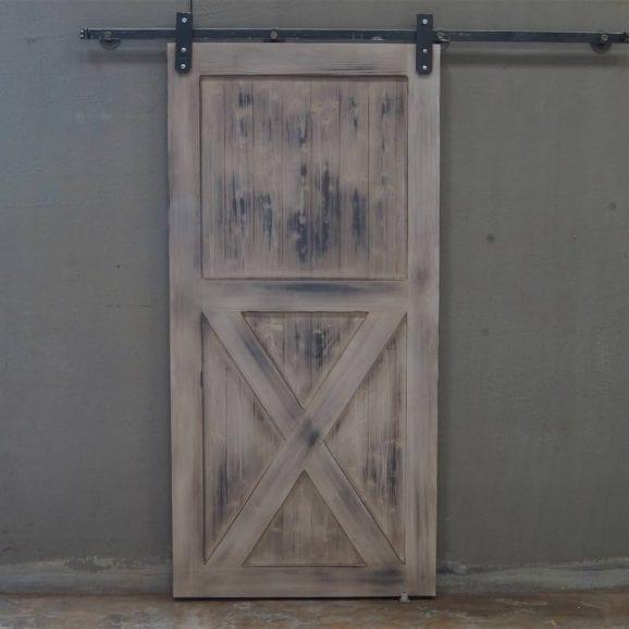 Barn Door porta scorrevole in legno massello