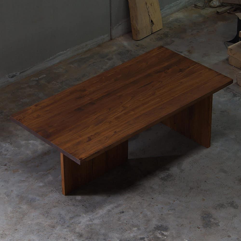 Tavolo legno massello gambe in legno tavolo barone falegnameria900 - Tavoli in legno massello rustici ...
