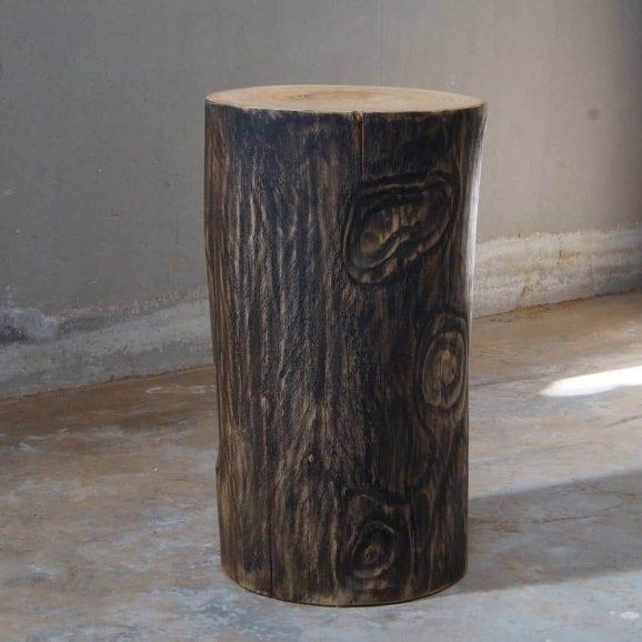 Tronco in legno per arredamento