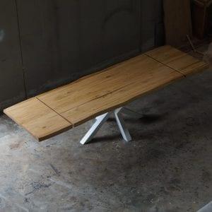 Tavolo legno massello allungabile