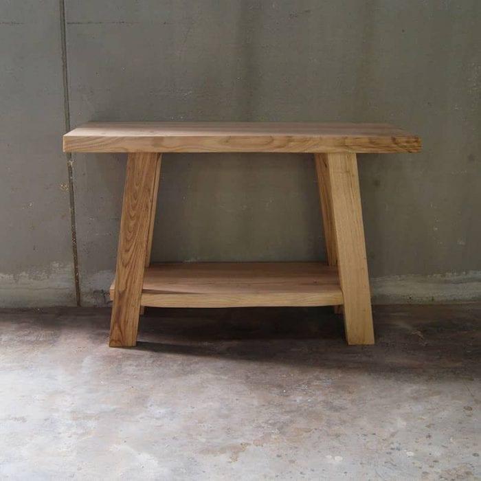 Mobile bagno in legno massello su misura