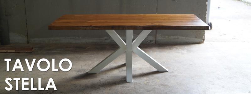 Tavolo arredamento legno massello